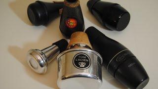 Comparison: 6 Trumpet Practice Mutes (Silent Mutes)