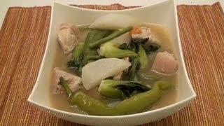 Pinoy Recipe - Sinigang Na Baboy [pork Soup With Tamarind Powder]