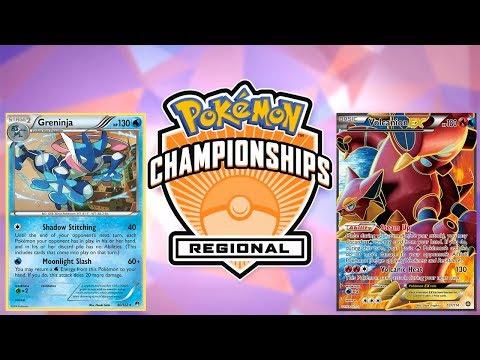 Pokemon TCG Hartford Regionals 2017-18 Round 6: Greninja vs Volcanion