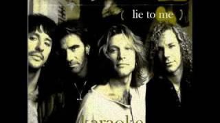 Bon Jovi - Lie To Me (Karaoke+Lyrics)
