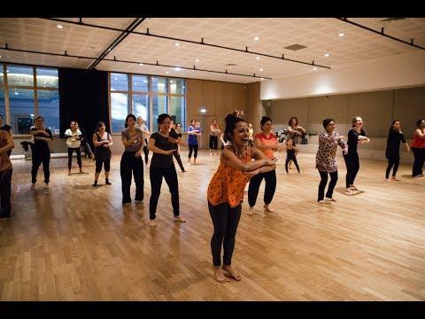 Shape of you, Carnatic version| Bollywood dance| Paris
