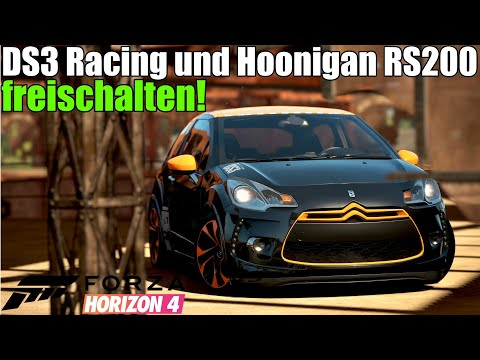 Forza Horizon 4 - So kannst du DS3 Racing und Hoonigan RS200 jetzt noch freischalten! thumbnail
