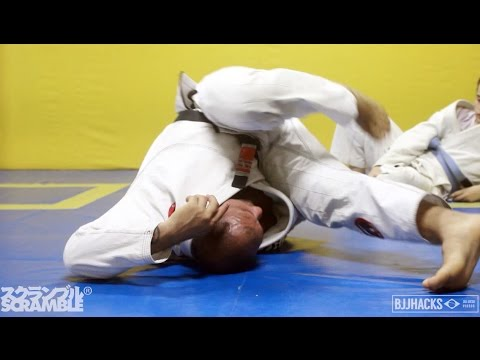 Roberto Cyborg teaches Drills for Inverting in BJJ    In the Gym with BJJ Hacks