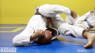 Roberto Cyborg teaches Drills for Inverting in BJJ || In the Gym with BJJ Hacks