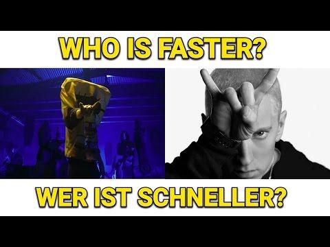 SPONGEBOZZ vs. EMINEM: WER IST SCHNELLER??!