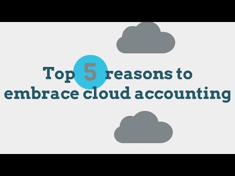 Top 5 Reasons to Embrace Cloud Accounting