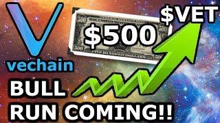 Vechain $500 2018!💰 $VET Moon Mission!! Overtake Ethereum???$VEN $VET $THOR