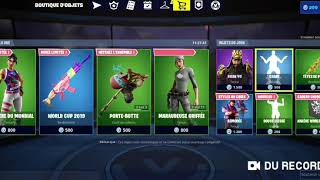 FORTNITE NEW WORLD WAR SKIN - EMOTE DOUCE LIESSE BOUTIQUE FORTNITE OF JULY 26, 2019