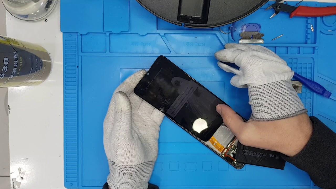 Huawei P30 lite kırık ekran tamiri cam değişimi
