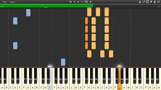 Mulan Honor to Us All - Piano tutorial and cover Sheets MIDI.mp3