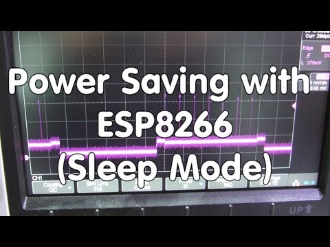 #47 Power Saving with ESP8266 (Sleep Mode) Tutorial with some Tricks