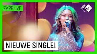 STERRE KONING zingt haar NIEUWE SINGLE 'Thuis Met Kerst' live | Zapplive | NPO Zapp