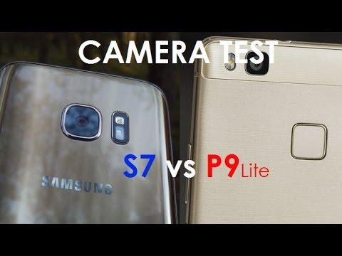 Samsung Galaxy S7 Vs Huawei P9 Lite - Camera Comparison