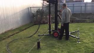 Сваекрут. Оборудование для монтажа винтовых свай(, 2015-11-01T19:27:10.000Z)