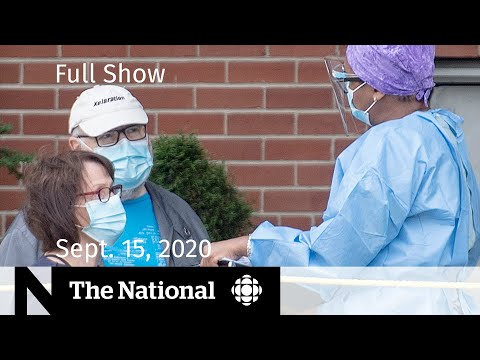 CBC News: The National   Sept. 15, 2020   COVID-19 testing demand strains system