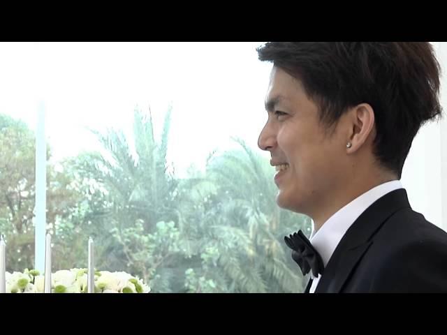 婚禮錄影 | 中仁。琬琳 - 93 Million Miles (宜蘭水教堂。台灣) 教堂婚禮 婚禮紀錄 婚禮攝影