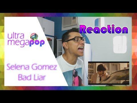 Selena Gomez - Bad Liar (Official Music Video) (Reaction)   Reação UMP   UltraMegaPop