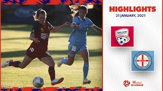 HIGHLIGHTS: Adelaide United v Melbourne City FC | January 21 | Westfield W-League 2020/21 Season