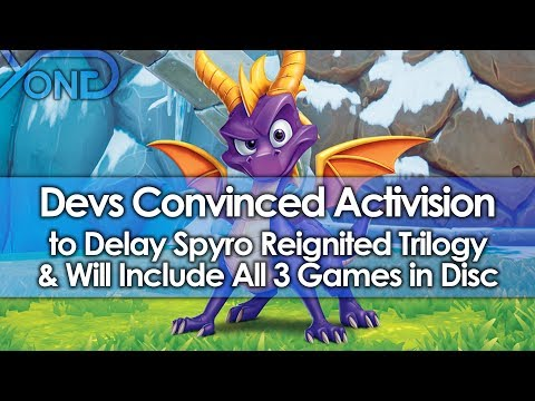 SOURCE: Devs Convinced Activision to Delay Spyro Reignited Trilogy to Include All 3 Games in Disc