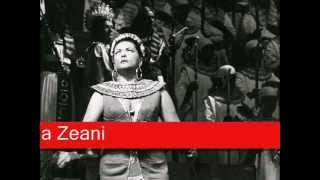 Virginia Zeani: Verdi - Aida,