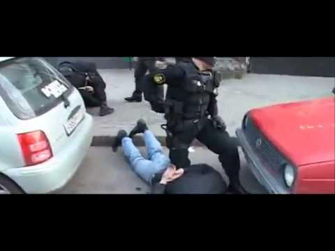 Russian Spetsnaz arresting bandits