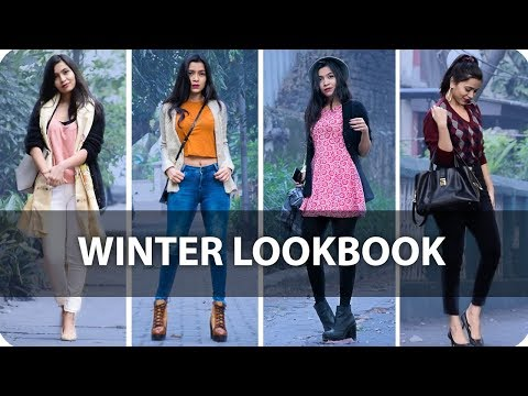 Winter Fashion Outfits Guide 2017 | Winter Lookbook India | Outfits Of The Week
