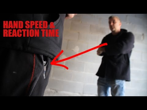 WATCH!  Incredible Hand Speed & Reaction Times by Doug Marcaida!