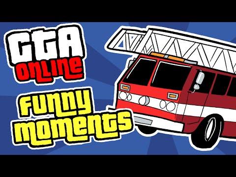 GTA 5 Online Funny Moments - BIG RACE