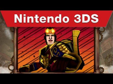 Nintendo 3DS - Code Name S.T.E.A.M. Trailer