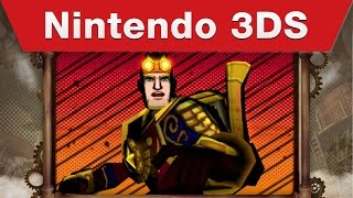 Nintendo 3DS - Code Name S.T.E.A.M. Trailer