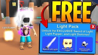 MYTHICAL LIGHT PACK GIVEAWAY IN ROBLOX MINING SIMULATOR! «PASSES DE JEU GRATUITES»