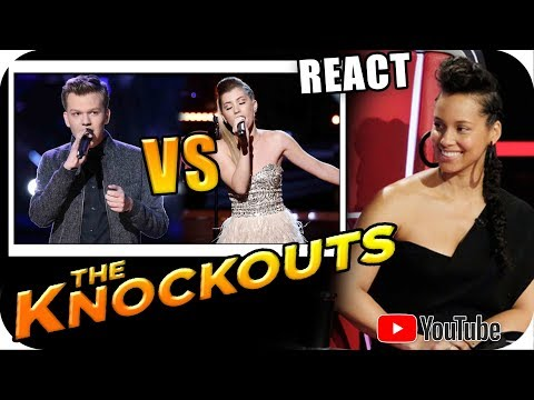 ALICIA KEYS TEAM - The Voice 2018 KNOCKOUTS - Britton Buchanan vs Dallas Caroline