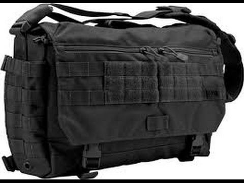 Product Review 5 11 Tactical Rush Messenger Bag Xray