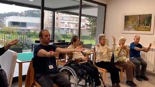Trabajadores de un centro mayores de Estella se encierran con sus residentes