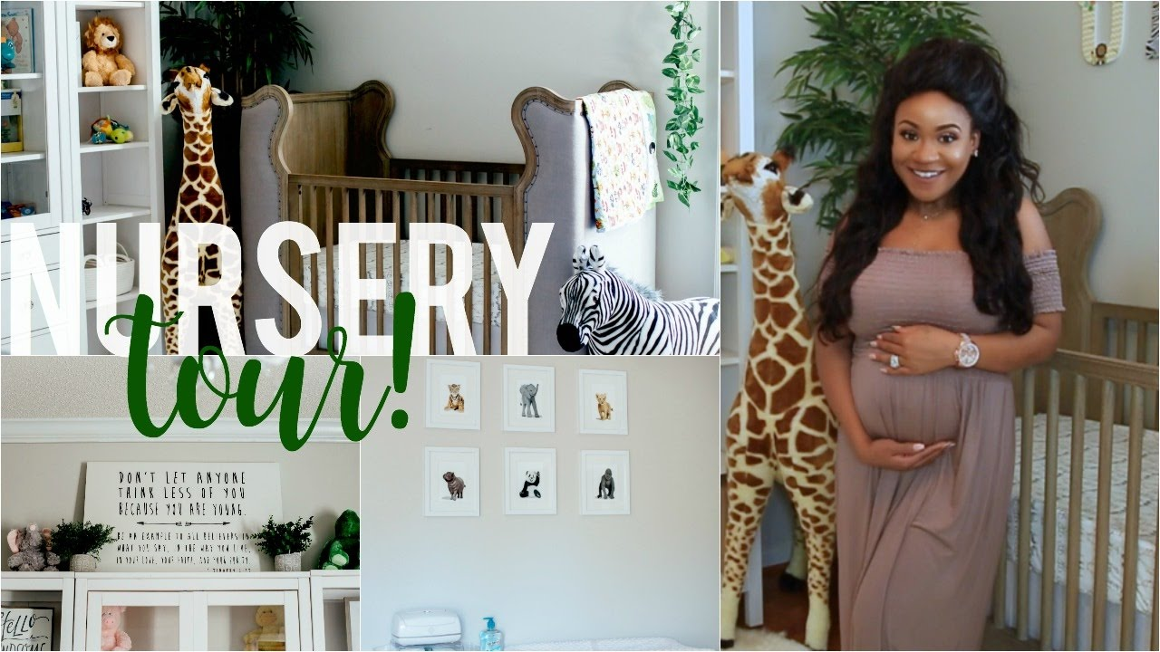 Baby Boy Nursery Tour Jungle Theme