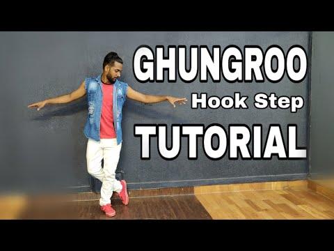 Ghungroo Hook Step Tutorial   Signature Step   Hrithik Roshan   Vaani Kapoor   War   By Nitish Mp3