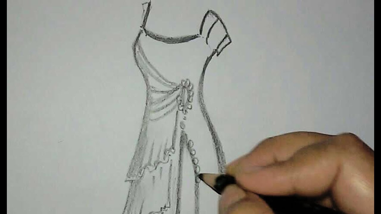 dress drawing designs pt