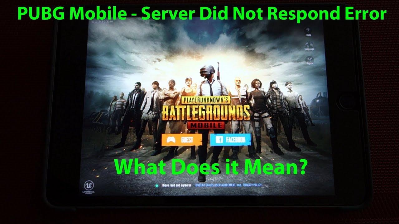 pubg mobile login overload