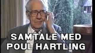 Poul Hartling, fhv. statsminister, fortæller til Henrik Gade om sit politiske liv. 1997