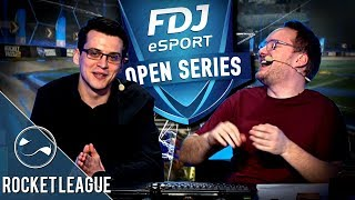 Extraordinaire ! Tournoi Rocket League - FDJ Open Series