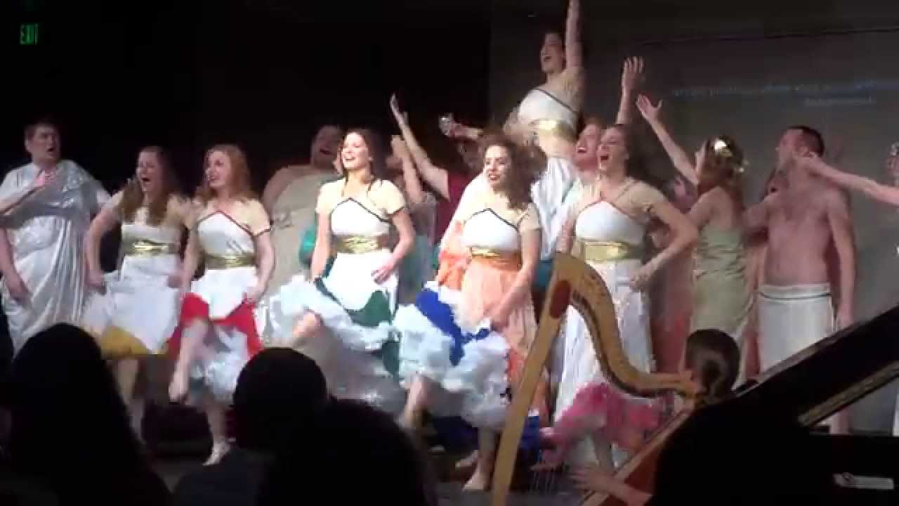 """UVU Opera - """"Can-Can"""" (from Offenbach's """"Orpheus in the ..."""