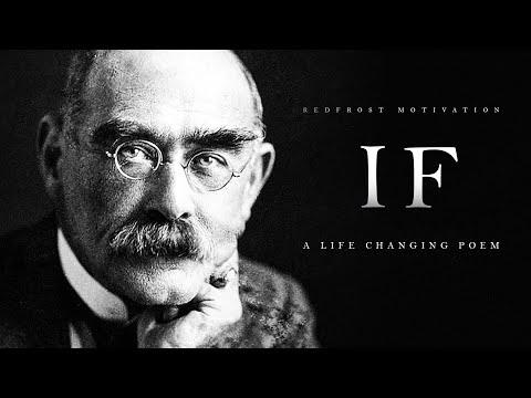 IF By Rudyard Kipling (A Life Changing Poem)