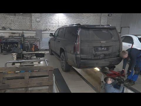 Тюнинг выхлопной системы Cadillac Escalade! Слушаем разницу до-после.