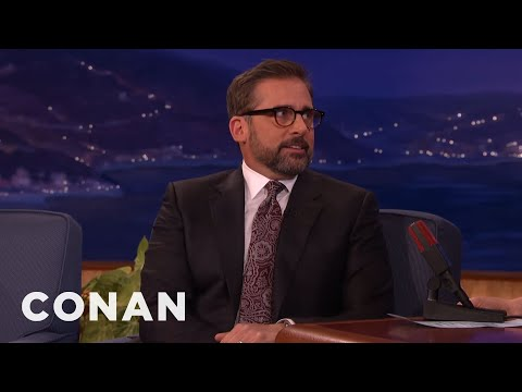 Steve Carell's Golden Globes Table Was Packed With Superstars  - CONAN on TBS