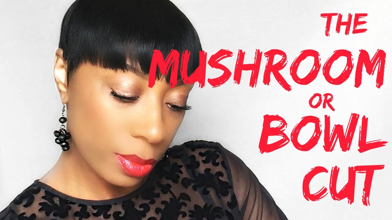 How To Create The Mushroom Or Bowl Cut Youtube