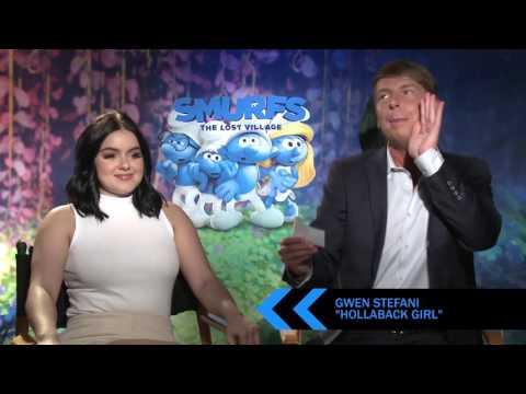 'The Smurfs' Cast Plays Lose Da Lyrics Game!