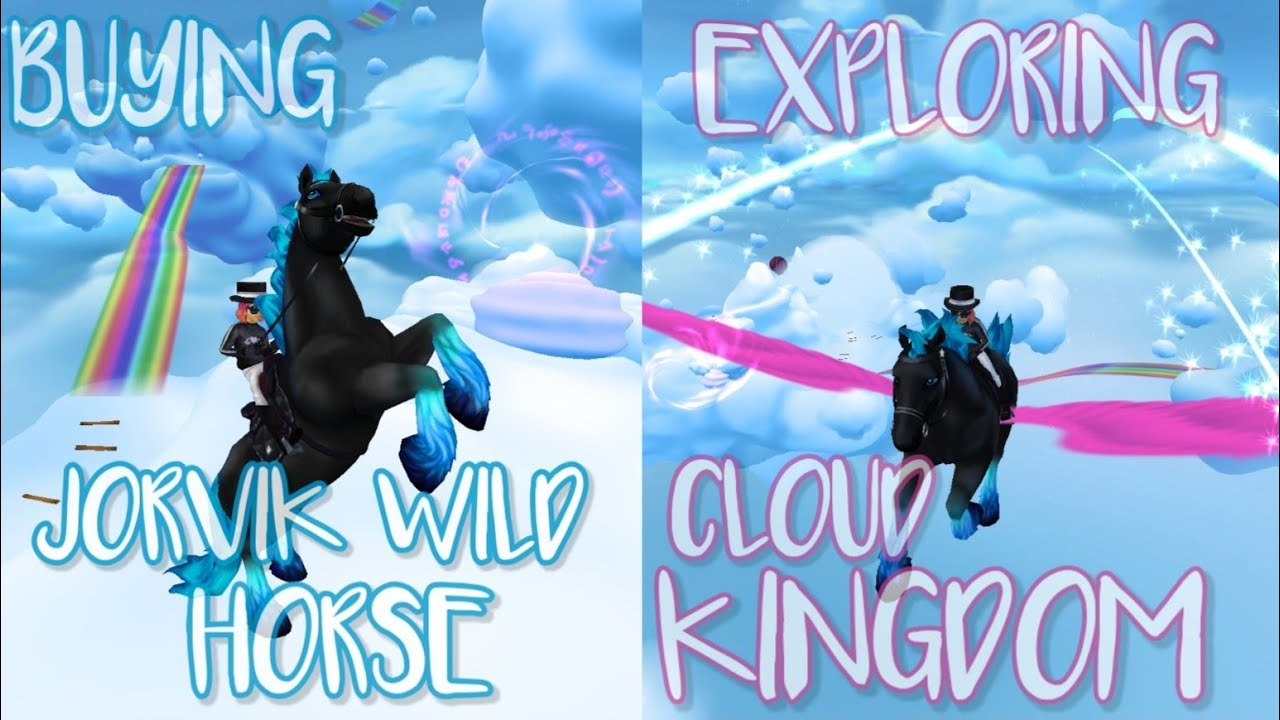 EXPLORING CLOUD KINGDOM & BUYING A JORVIK WILD HORSE! *SSO* Star Stable PC Game