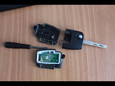 Замена батарейки в ключе Ford Focus 2 или как разобрать брелок