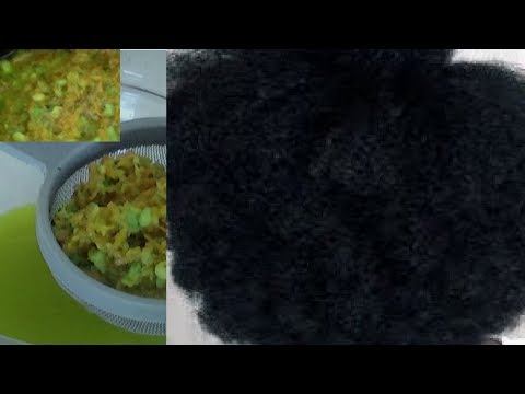 Cheveux défrisés revenir au naturelle:  vos cheveux vont poussé. longs et épais  rapidement