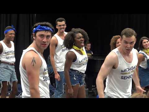 Senior Entrance - MT18 - University of Michigan Musical Theatre